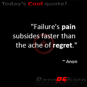 Daily Quotes – Regret