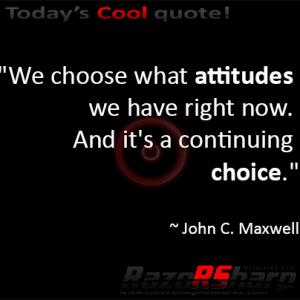 Daily Quotes – Attitude