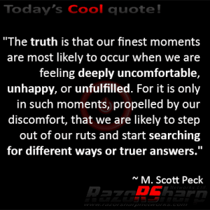Daily Quote - Our Finest Moments