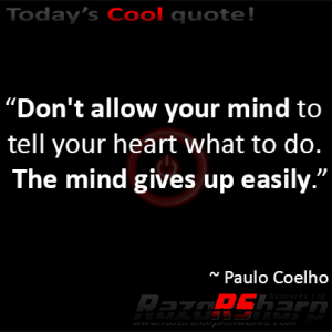 Daily Quote - Lead With Your Heart