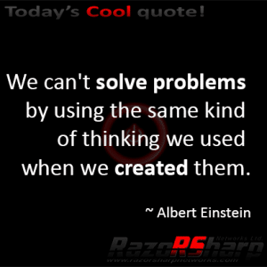 Daily Quote - Problem Solving