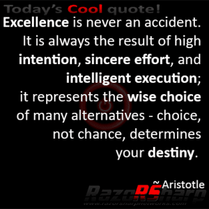 Daily Quote - Excellence
