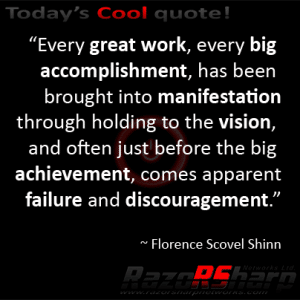 Daily Quotes - Accomplishment