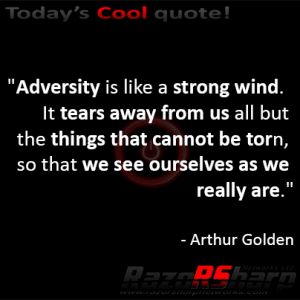 Daily Quotes - Adversity