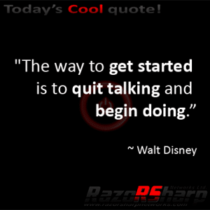 Daily Quotes - Begin Doing
