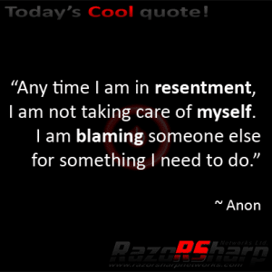 Daily Quotes - Blaming