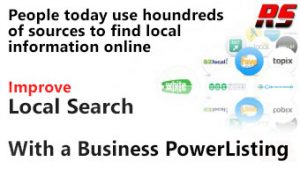 ENGAGE more customer online with a RazoRSharp Business Power Listing