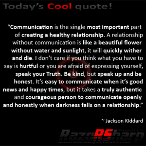 Daily Quotes - Communication