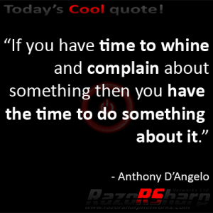 Daily Quotes - Complaints