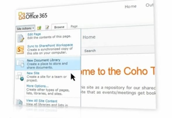 Creating Professional Websites - Office 365