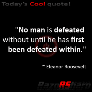 Daily Quotes – Defeated