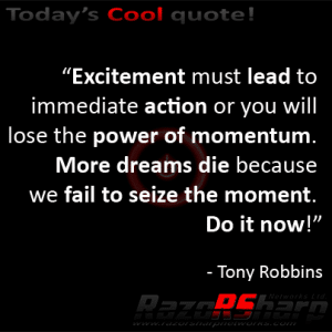 Daily Quotes - Excitement