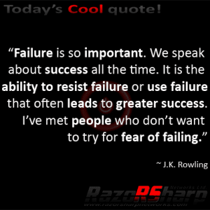 Daily Quotes – Failure