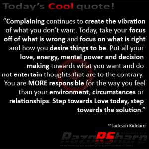 Daily Quotes - Focus