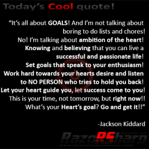 Daily Quotes - Goals