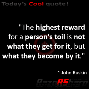 Daily Quote - Hardwork