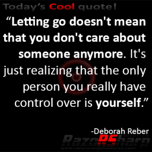 Daily Quotes - Letting Go