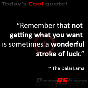Daily Quotes - Luck