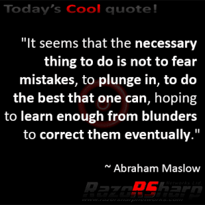 Daily Quotes - Mistakes