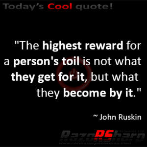 Daily Quotes - Reward