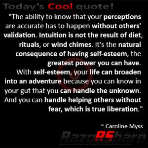 Daily Quotes - Self Esteem