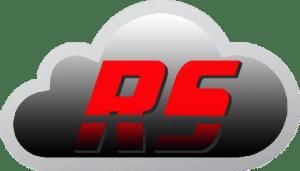 RazoRSharp Networks Logo inside cloud icon.